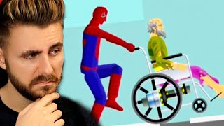 HAPPY WHEELS dar sunt SPIDERMAN!