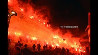 PAOK 93 YEARS / HUGE PYROSHOW on CASTRA