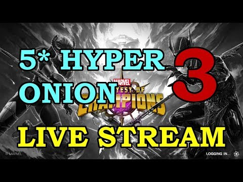 5-Star Hyperion Grinding - Part 3 | Marvel Contest of Champions Live Stream
