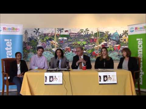 Bermuda Fashion Festival Press Conference