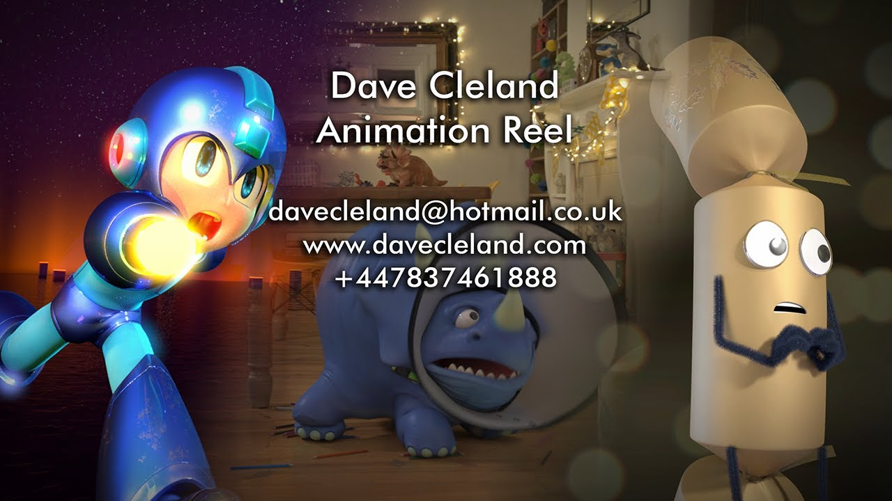Dave Cleland Animation Reel