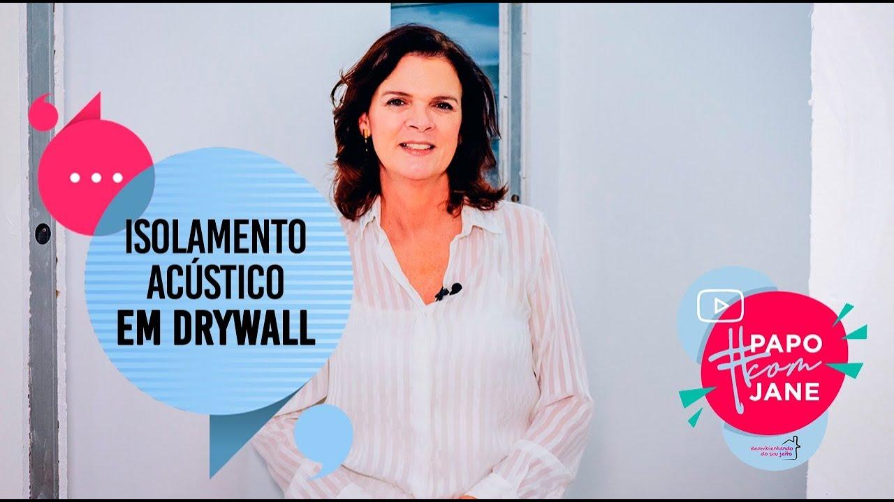 ISOLAMENTO ACÚSTICO EM PAREDES
