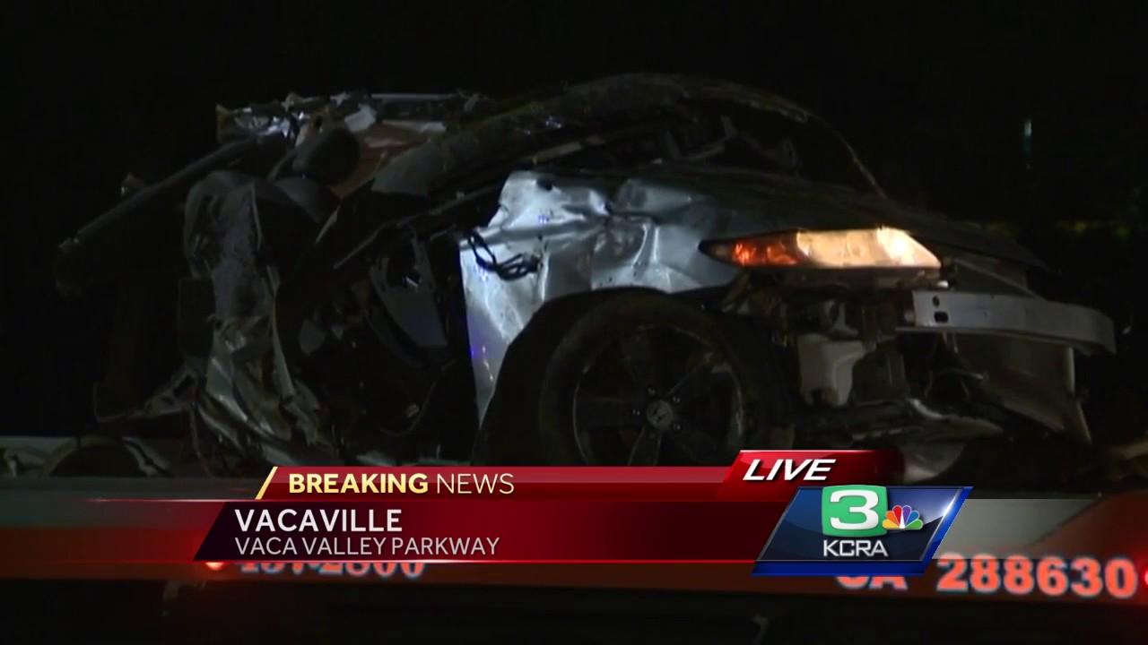 Car crash in Vacaville kills driver