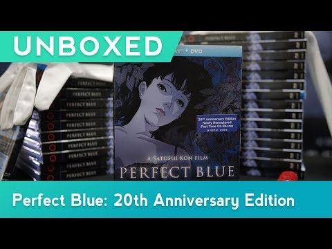 GKIDS UNBOXED | Perfect Blue Unboxing | Blu-ray™ + DVD