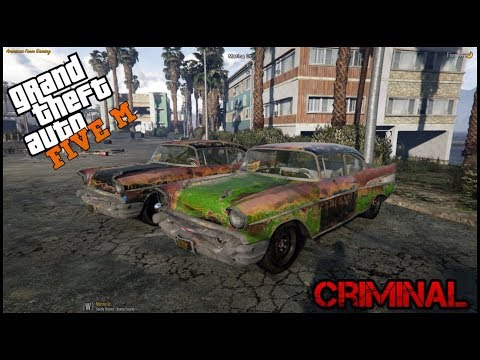 GTA 5 ROLEPLAY - CRAPPY RACE GONE WILD - EP. 62 - CRIMINAL
