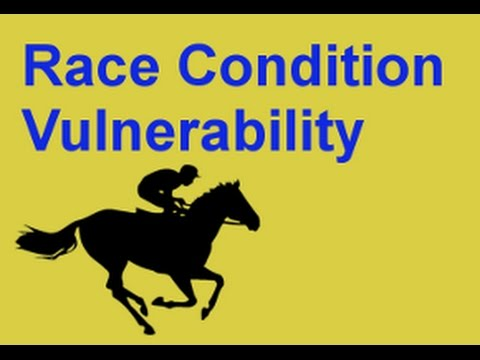 Race Condition Vulnerability Lecture