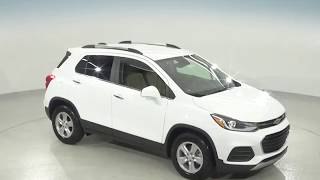 182257 - New, 2018, Chevrolet Trax, 1LT, White, SUV, Test Drive, Review, For Sale -