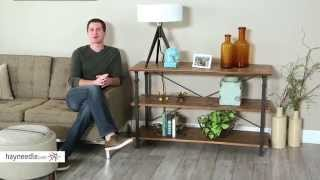 Homelegance Factory TV Stand - Product Review Video