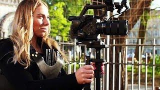 Best Video Camera Stabilization System test shots- Flycam Vista-II Arm-Vest with Redking Stabilizer!
