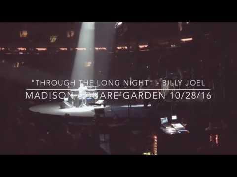 """Through The Long Night"" - Billy Joel, MSG 10/28/16"