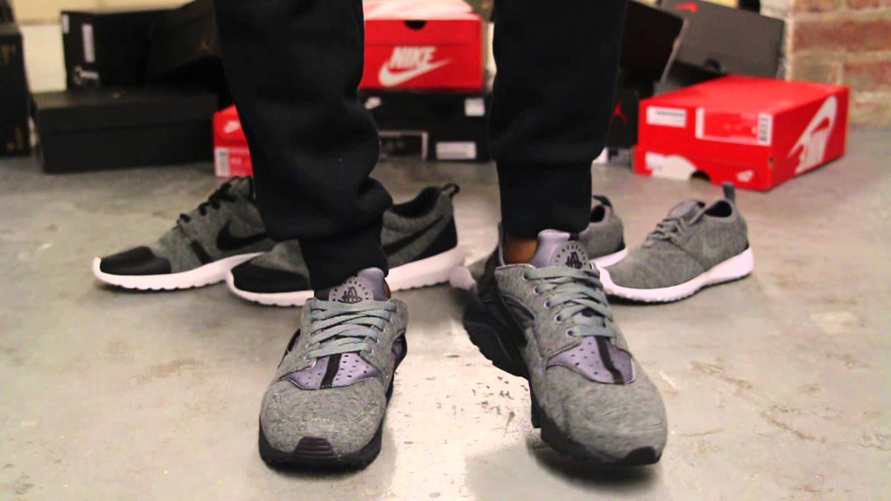 e9d16f256e575 ... spain nike air huarache run tech pack on feet video at exclucity youtube  80e30 06247