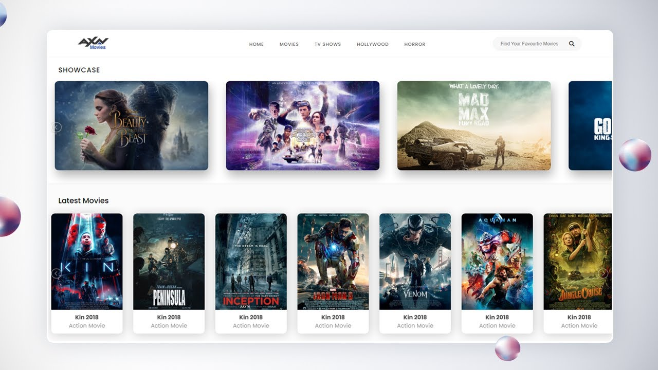 How To Create a Responsive Movie Website Using HTML CSS And jQuery
