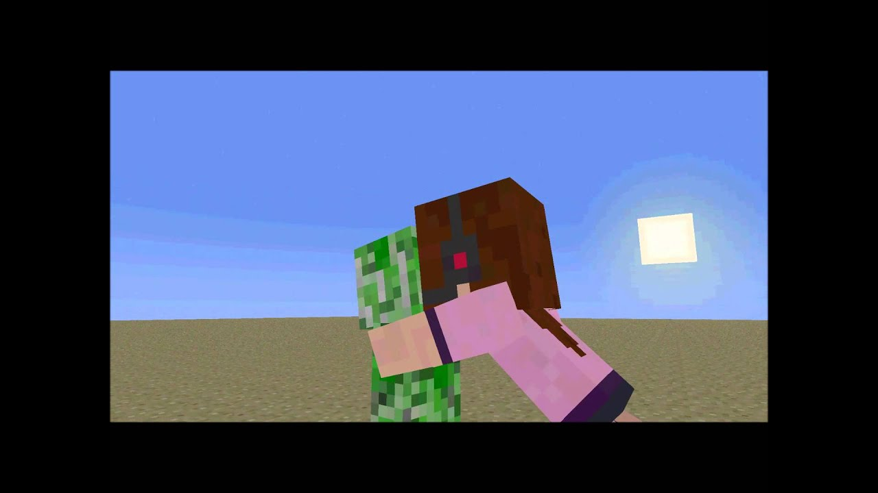 Never Kiss A Creeper Minecraft Animation Cringe YouTube