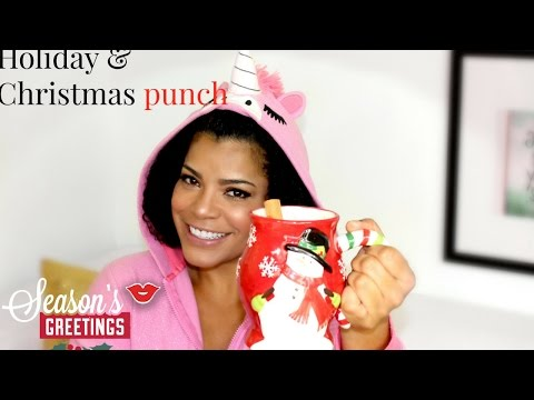 Delicious Holiday Punch! | Daily From Millennial Moms