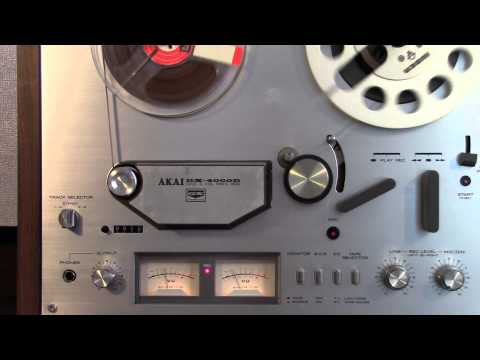 AKAI GX-4000D Recording