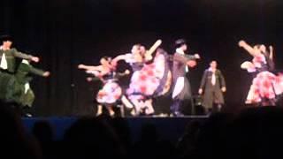 Agrupacion Folklorica Pialando Sueños Gral. Alvarado..Danza Gato del Festival