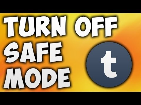 How To Turn Off Safe Mode On Tumblr App | Android & iOS