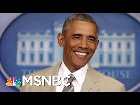 Remembering Barack Obama's Biggest Scandal: The Tan Suit | All In | MSNBC