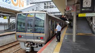 JR西日本207-2000系 湖西線普通京都ゆき 近江舞子→京都