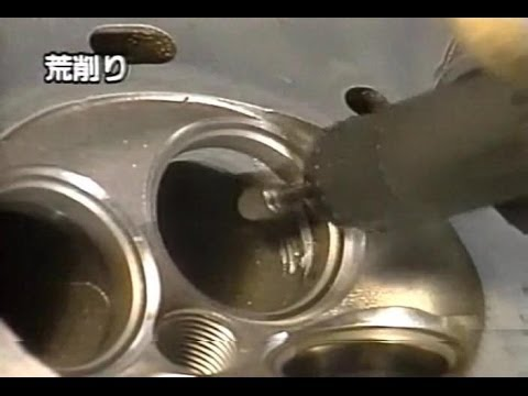 [ENG CC] Integra Type R B18C Engine production footage 1995