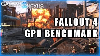 Fallout 4 Max Graphics Settings Bench Course - 4K 980 Ti
