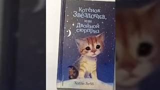 Обзор на книгу .Котёнок звёздочка или двойной сюрприз!!