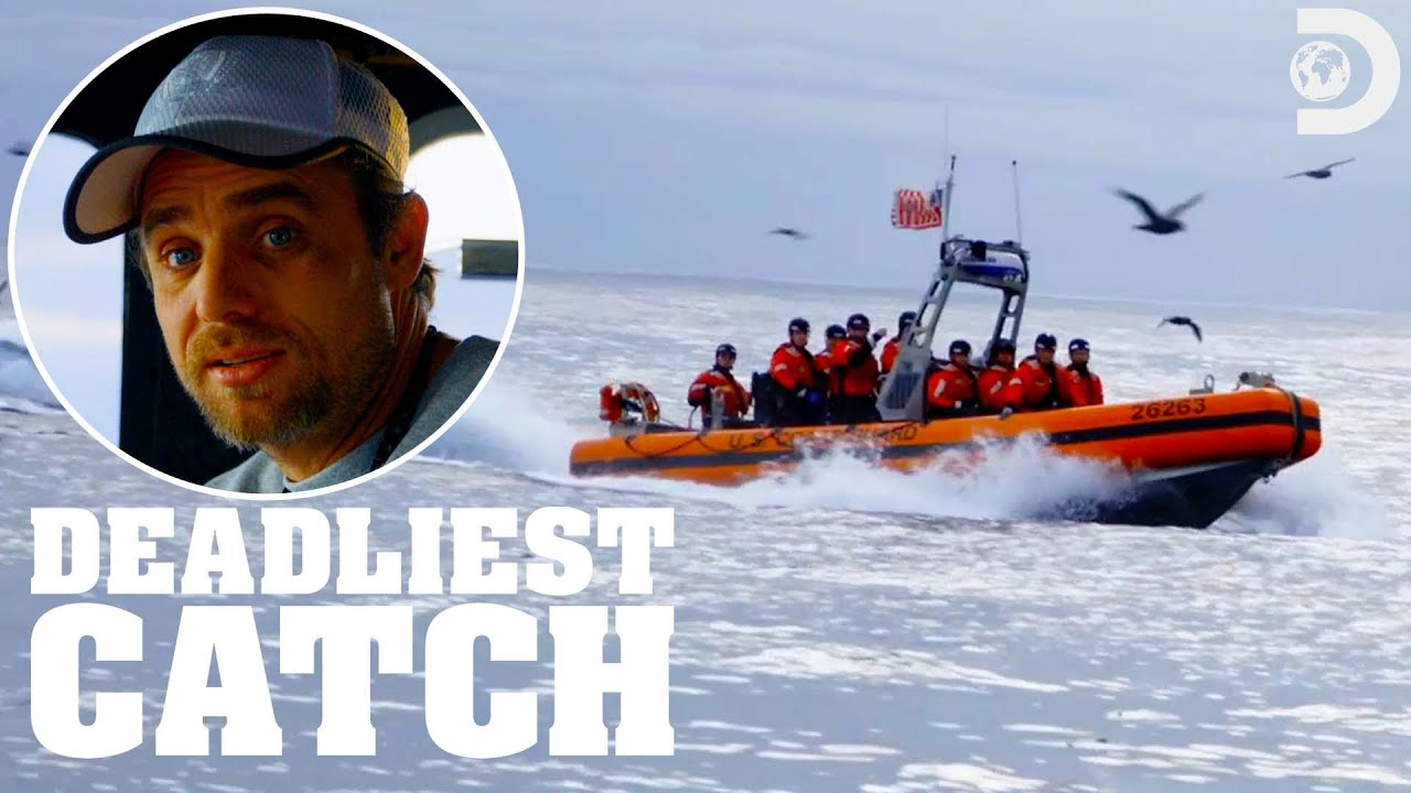 Download Boarded by the Coast Guard! | Deadliest Catch