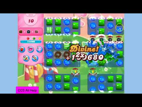Candy Crush Saga Level 3254 NO BOOSTERS Cookie