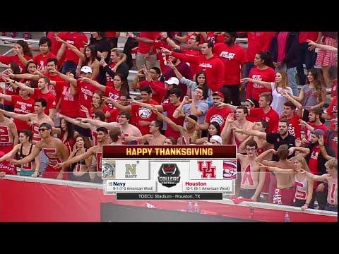 Navy vs Houston 2015 NCAA Football