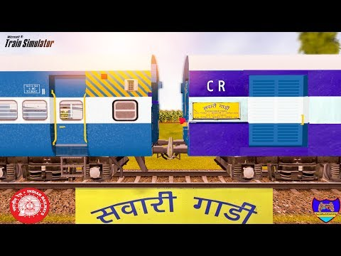 Nagpur Bhusaval Passenger Train Part 2 in MSTS Open Rails