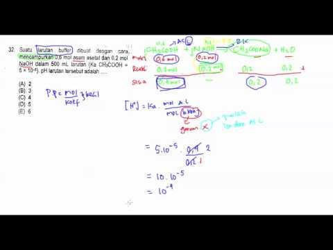 Pembahasan Soal SBMPTN Kimia 2014 No. 31-35