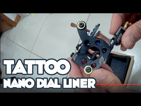 Unboxing Nano Dial Liner - Electric Ink - Paulo Fernando