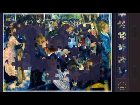 Magic Puzzles ~ Gameplay Walkthrough ~ Dance at Le Moulin de la Galette, Montmartre