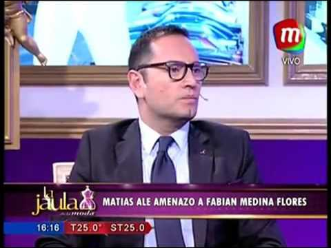 Matías Alé amenazó al crítico de moda Fabián Medina Flores por opinar sobre su mujer