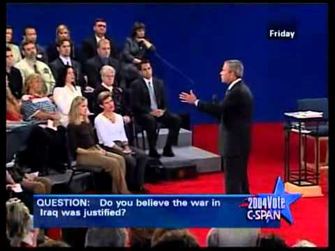 2004 2nd Presidential Debate Part 1