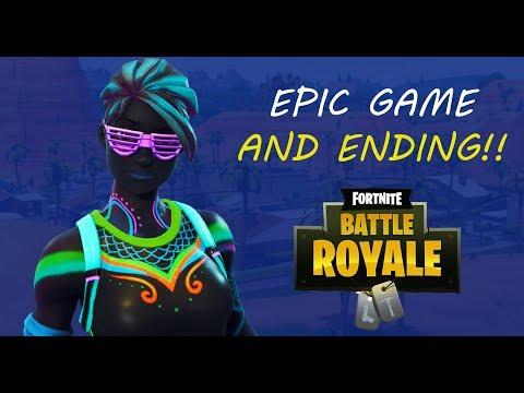 WHAT AN ENDING!! - Fortnite Battle Royale Gameplay - J4PRES