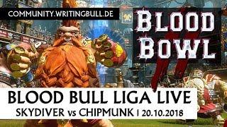 Blood Bowl 2: Skydiver vs Chipmunk | Blood Bull Liga