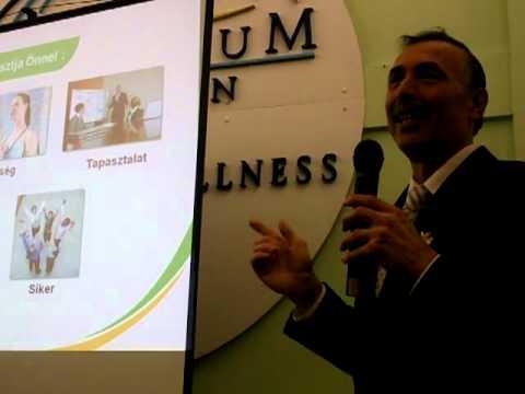 Somogyi Ferenc a TIENS marketing tervről