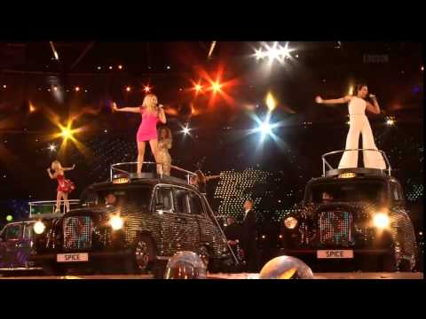 Spice Girls at the Olympics Closing Ceremony (BEST EDITING!)