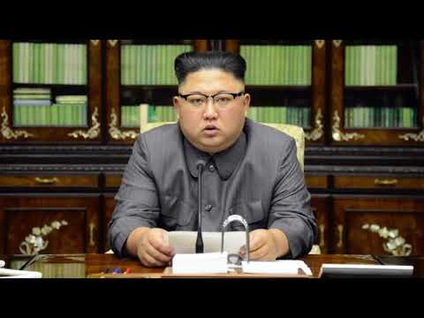 Kim Jong Un Makes Statement (22.09.2017)