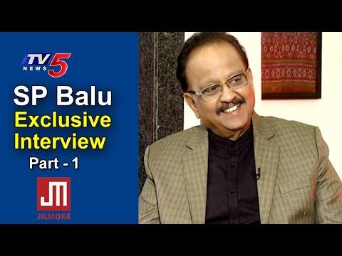 SP Balasubrahmanyam Exclusive Interview   Jilmore App   Part #1   Telugu News   TV5 News