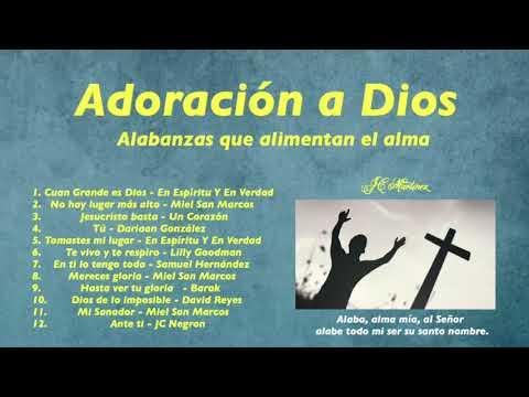 Adoración A Dios   Alabanzas Que Alimentan El Alma
