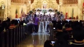UST Singers Live in New York City 2014