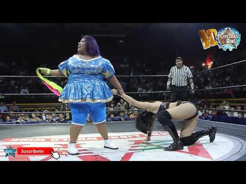 big-mami-y-niño-hamburguesa-vs-lady-maravilla-y-king-balam-campeonatos-mixtos-aaa
