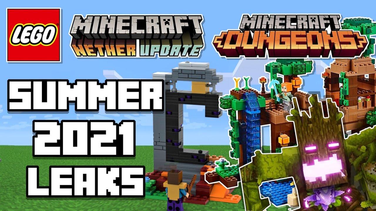 LEGO Minecraft 10 Summer Leaks  Dungeons & Nether Update Sets