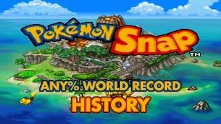Pokémon Snap - Any% Speedrun World Record History