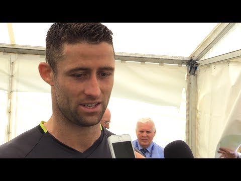 FA Cup Final - Gary Cahill Interview - Arsenal v Chelsea
