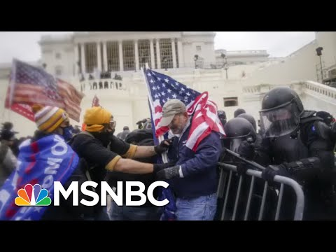 Shocking New Video Of Moment Officer Sicknick Was Attacked At Capitol Riot | All In | MSNBC