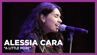 """Alessia Cara """"A Little More"""" Live at KiSS 92.5"""