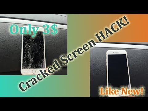 DIY-Cracked Screen Hack!